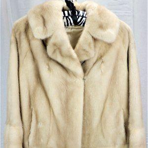 Jackets & Blazers - Vintage Blond Mink Car Coat No Size